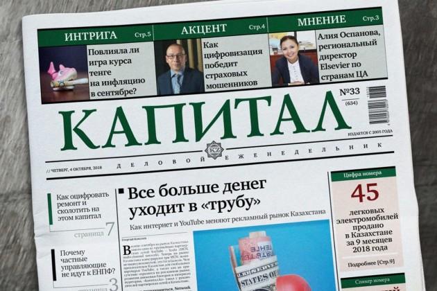 Подборка самых читаемых статей наKapital.kz