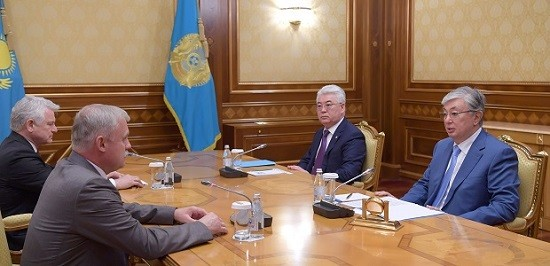 Президент принял госсекретаря Совета безопасности Беларуси