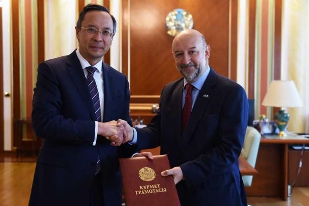 Посол Франции вКазахстане завершил свои полномочия