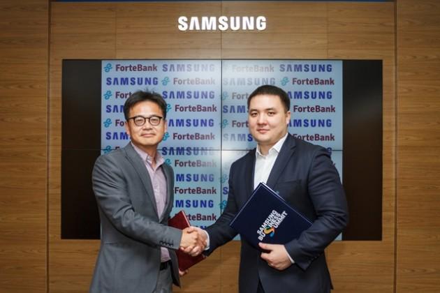 Samsung иForteBank дарят смартфоны заемщикам