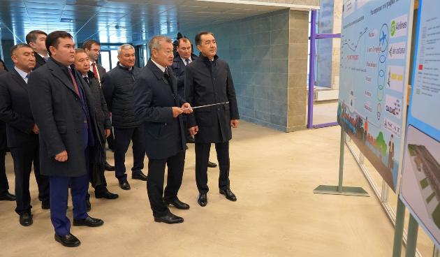 Бакытжан Сагинтаев прибыл вВосточно-Казахстанскую область