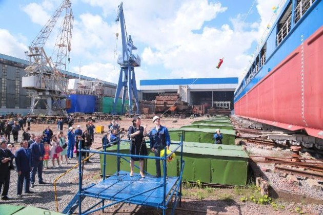 Новое судно Жібек жолы пополнит сухогрузный флот Казахстана