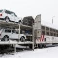 Азия Авто отправила первую регулярную партию Lada 4×4в Китай
