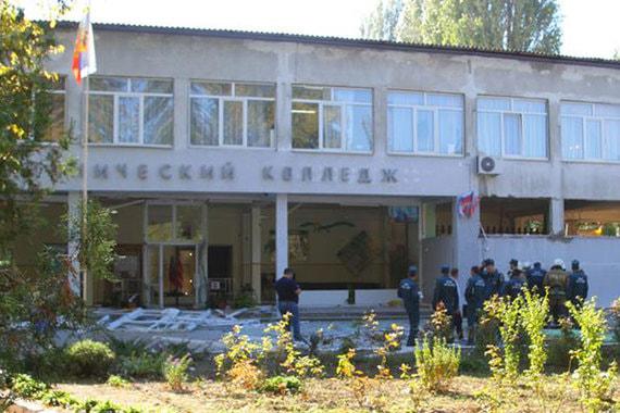 Взрыв вколледже вКерчи признали терактом