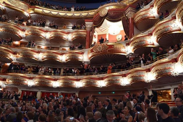 Президент посетил оперу Абай