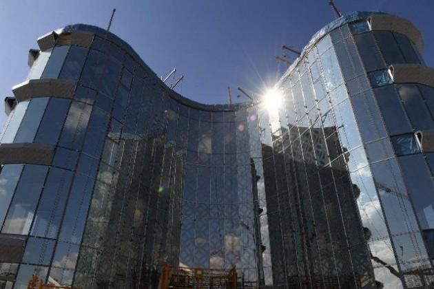 Медиацентр в Туркестане планируют достроить в течение месяца