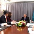 Президент Казахстана встретился сбизнесменами США