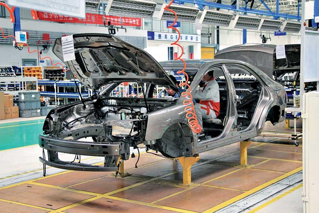 Компания Geely планирует сделать навостоке Китайская республика комплексную базу повыпуску электрокаров