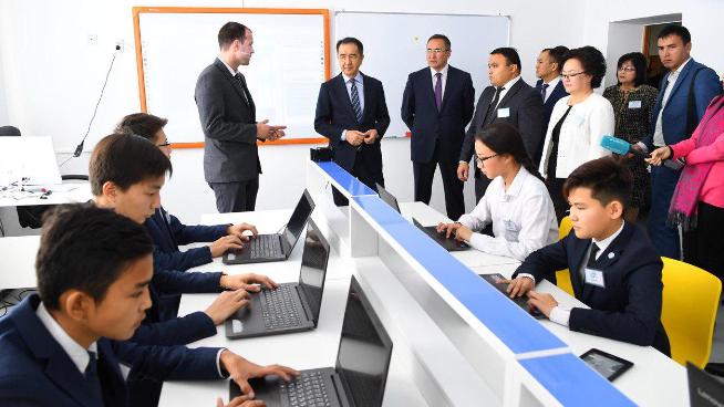 Премьер-министру представили проекты Смарт-Тараз иТараз-Хаб