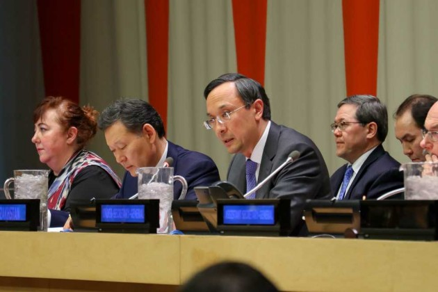 Казахстан представил вООН кодекс посвободному оттерроризма миру