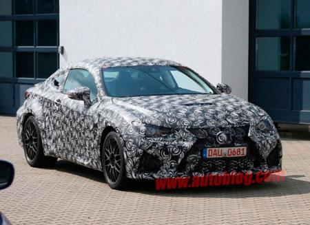 Lexus готовит конкурента BMW M4