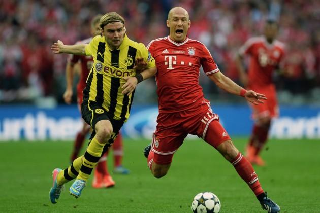 «Бавария» стала победителем Лиги чемпионов 2012/13
