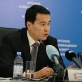 Алихан Смаилов стал первым заместителем премьер-министра
