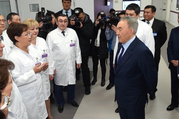 Президент посоветовал врачам повышать свою квалификацию