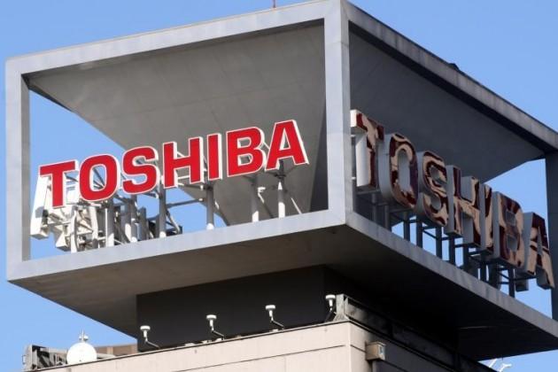 Чистая прибыль Toshiba выросла на 7% за год