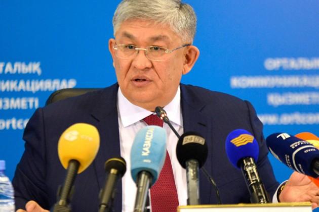 Президент продлил полномочия Крымбека Кушербаева