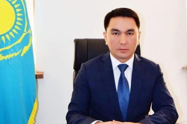 Назначение вакимате Туркестанской области