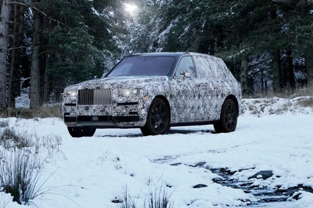 Cullinan: кроссовер отRolls-Royce