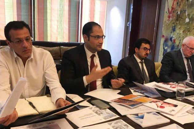 Бизнесмены изКатара ознакомились синвестпроектами вРК