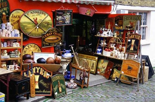 Сокровища Англии. Путешествие по блошинным рынкам
