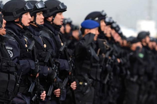 ВАкмолинской области проводят антитеррористические учения