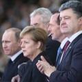 Меркель поговорила с Путиным и Порошенко