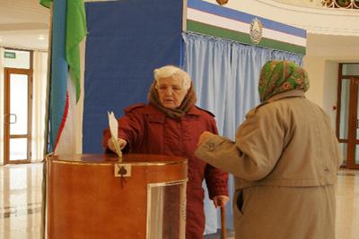 Явка на выборах президента Узбекистана составила 91%