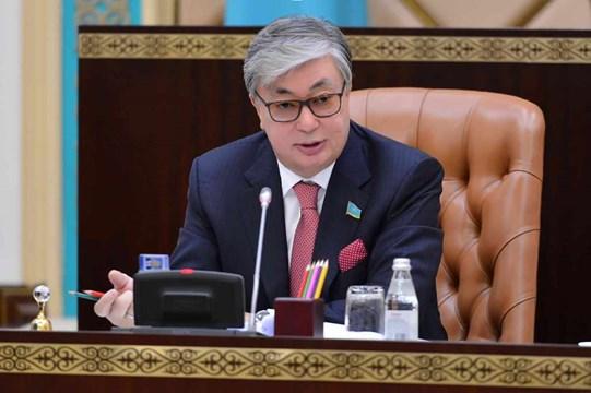 Касым-Жомарт Токаев выступил сзаявлением пообращению президента