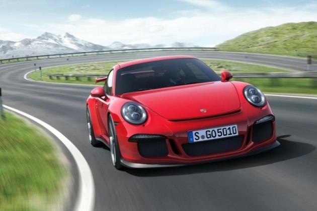 Porsche представил самый мощный 911 GT3