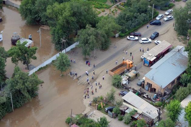 Из-за селя в Алматы эвакуированы около 900 жителей