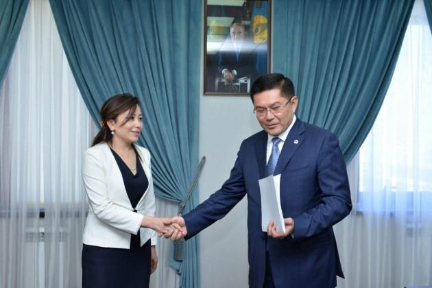 Жанар Бектаева возглавила одно из управлений Шымкента