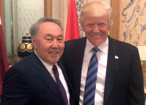 Дональд Трамп пригласил Нурсултана Назарбаева посетить США софициальным визитом