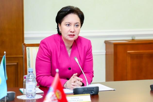 Гульшара Абдыкаликова освобождена от должности вице-премьера