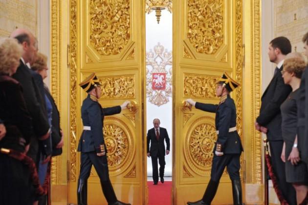 Владимир Путин вступил вдолжность президента России