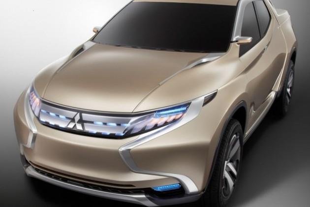 Mitsubishi GR-HEV - L200 из будущего