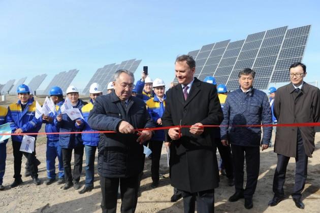 В Капшагае запущена первая в СНГ энергоаккумулирующая система