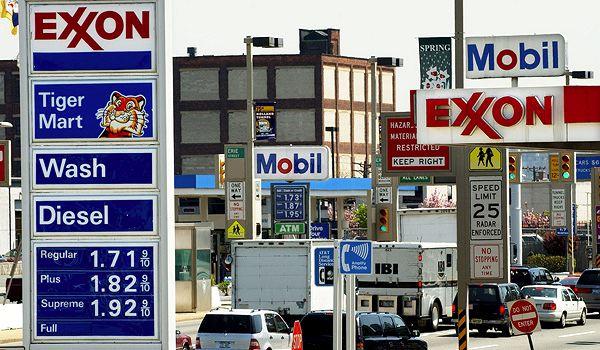 Нефтяные компании США получают прибыль засчет высоких цен на газ