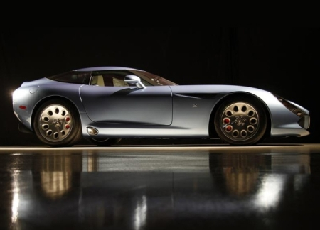 Последний Alfa Romeo Zagato Stradale TZ3