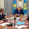 Нурсултан Назарбаев провел встречу сРустамом Миннихановым