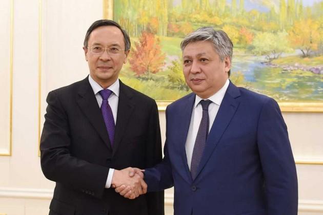 Очем договорились министры иностранных дел Казахстана иКыргызстана