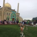 Бизнесмены построили мечеть за $1 млн