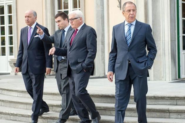 Нормандская четверка против ввода в Украину миротворцев
