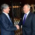 Нурсултан Назарбаев встретился с Алмазбеком Атамбаевым