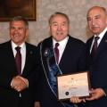 Президент получил звание Почетного доктора наук