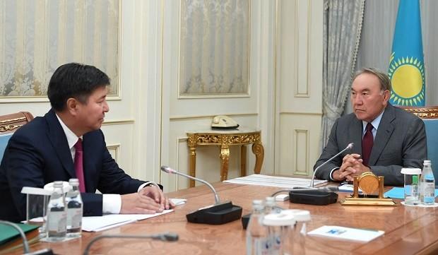 Жакип Асанов отчитался перед Президентом оработе судов