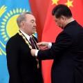Нурсултан Назарбаев награжден орденом Дружбы КНР