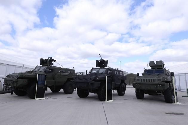 Силовые ведомства Казахстана закупят «Арланы»