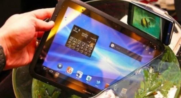 Fujitsu показала планшет Arrows