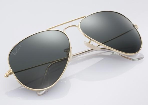 Ray-Ban выпускает очки-авиаторы из чистого золота