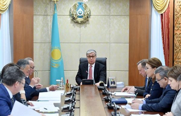 Касым-Жомарт Токаев подвел итоги работы Сената в2017году